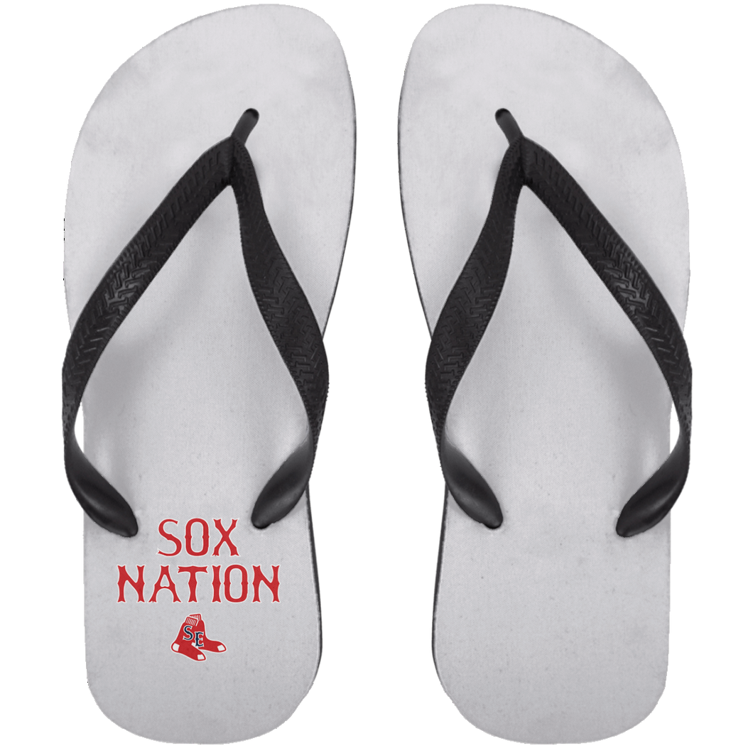 Sox Nation Adult Flip Flops