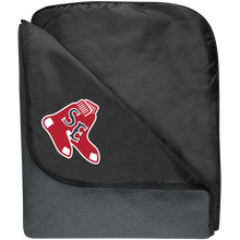 Load image into Gallery viewer, Sox Embroidered Logo Fleece & Poly Travel Blanket