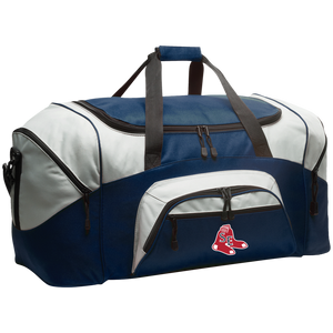 Sox Embroidered Logo Colorblock Sport Duffel