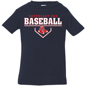 SE Sox Plate Logo Infant Jersey T-Shirt