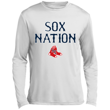 Load image into Gallery viewer, Sox Nation Long sleeve Moisture Absorbing T-Shirt