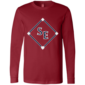 SE Sox Diamond Logo Men's Jersey LS T-Shirt