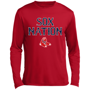 Sox Nation Long sleeve Moisture Absorbing T-Shirt