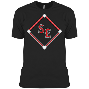 SE Sox Diamond Logo Men's Made in USA Cotton T-Shirt