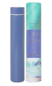 Blue Slim Flask Bottle
