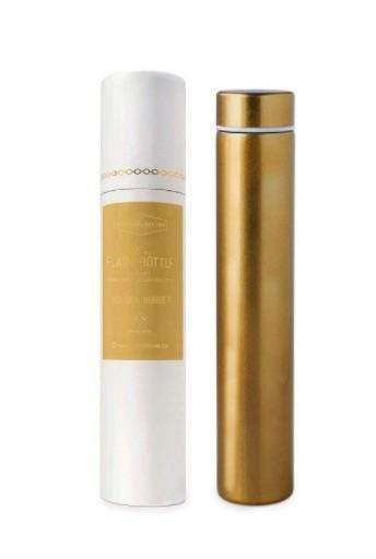 Gold Slim Flask Bottle