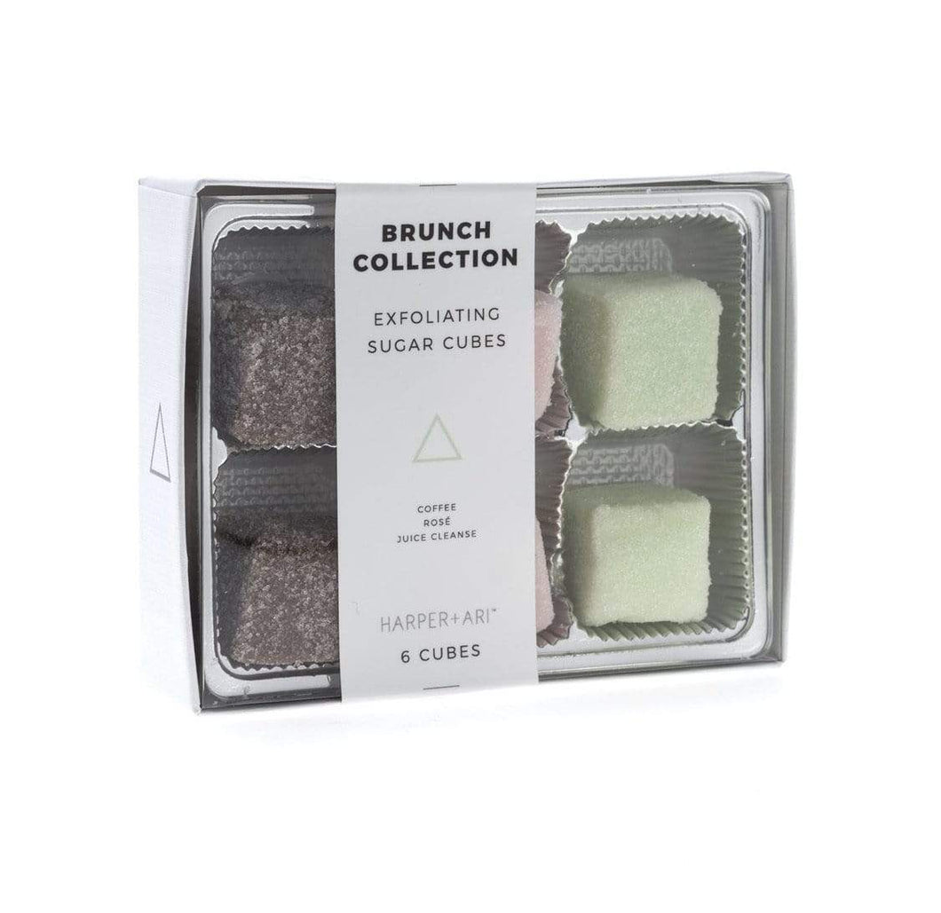 Exfoliating Sugar Cubes Brunch Collection Gift Box