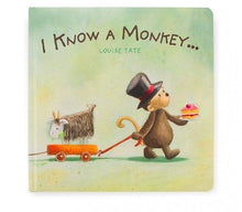 Load image into Gallery viewer, Jellycat I Know A Monkey Book