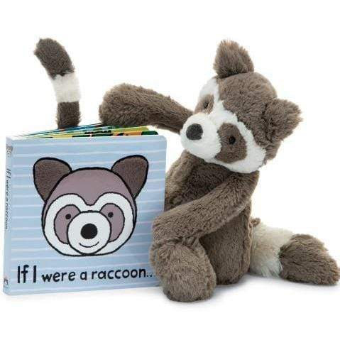 Jellycat If I Were A Raccoon Book