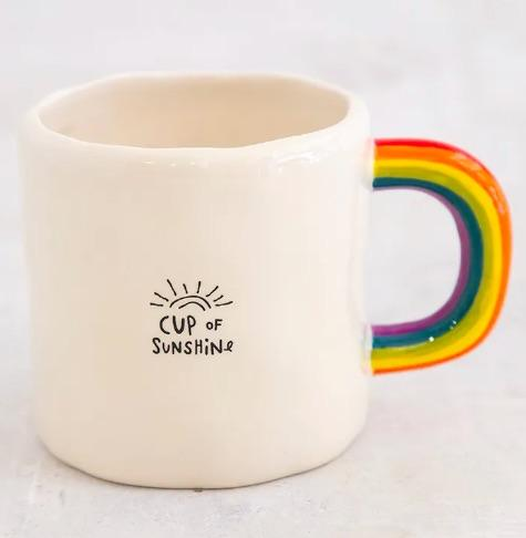 Cup Of Sunshine Rainbow Mug