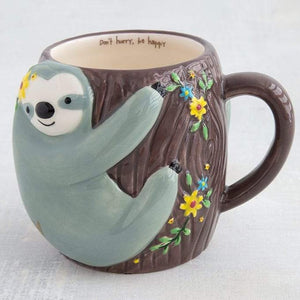 Don't Hurry Sloth Mug