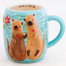 Load image into Gallery viewer, Otter Half Mug
