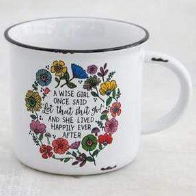 Natural Life Collections Drinkware Wise Girl Camp Mug