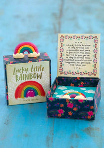 Natural Life Collections Gift Lucky Charm - Rainbow