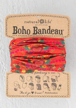 Load image into Gallery viewer, Red Hearts Boho Bandeau