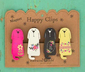 Dog Magnet Happy Clips