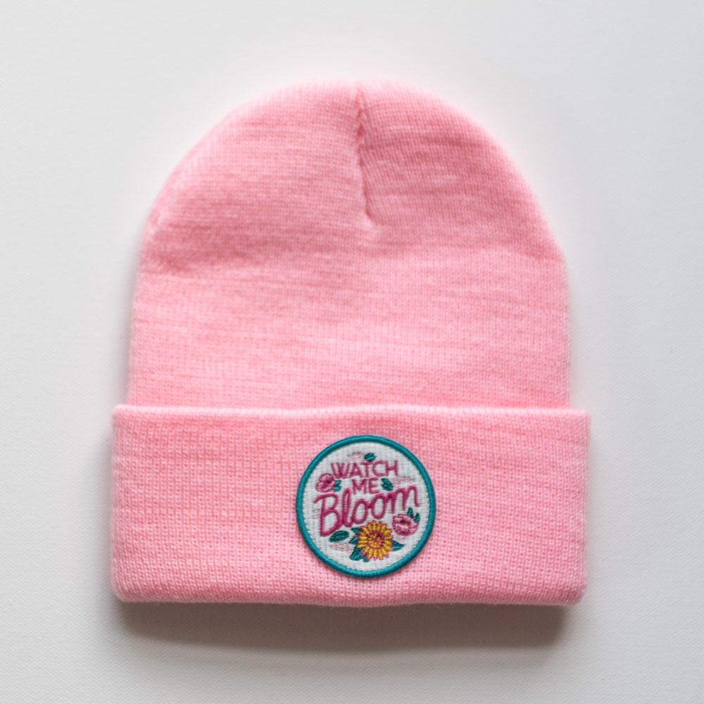 SEASLOPE Kids Apparel Seaslope Beanie Kid Bloom
