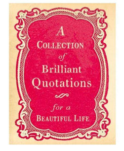 Brilliant Quotations Book