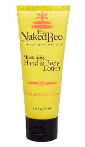 Naked Bee Hand & Body Lotion - 2.25 oz Grapefruit Blossom Honey