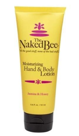 Naked Bee Hand & Body Lotion - 2.25oz Jasmine & Honey