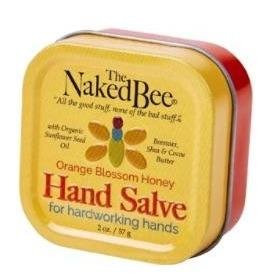 Naked Bee Hand Salve - 2oz Orange Blossom Honey