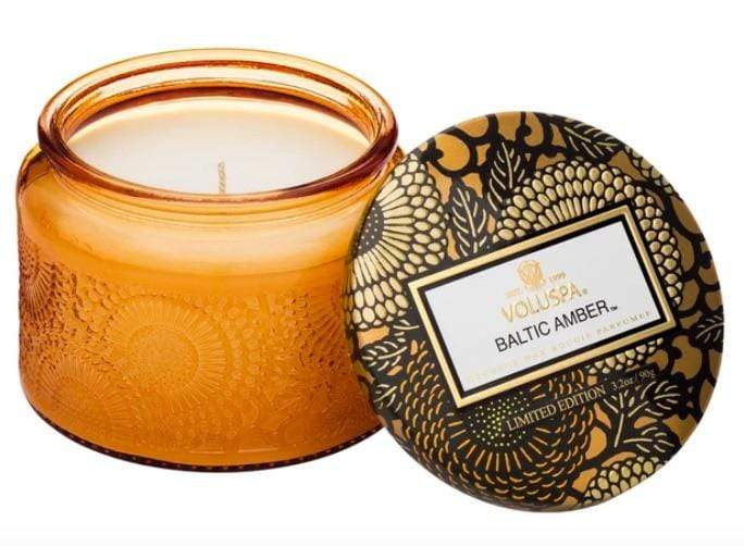Voluspa Baltic Amber Petite Jar Candle
