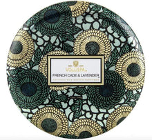 Load image into Gallery viewer, Voluspa French Cade Lavender 3 Wick Tin Candle