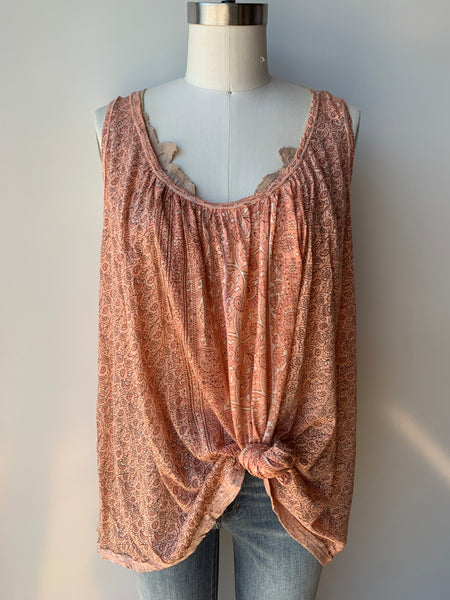 free people mess around tunic in pink