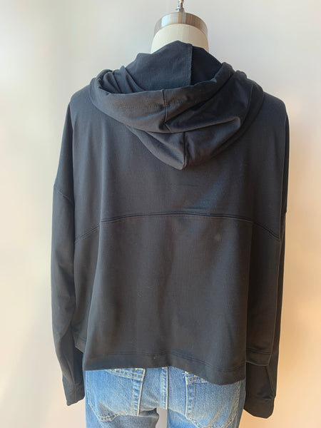 good hYOUman shelby be kind hoodie in black