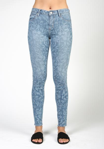 articles of society sarah skinny midrise jean in bamboo