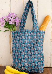 natural life on the go tote in teal
