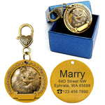 Dog id tags for pomeranian