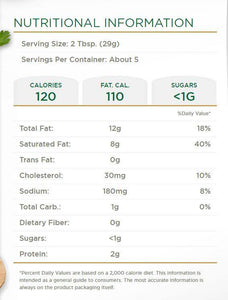 Boursin Cheese with Garlic & Herbs Nutrition Facts- Hardie's Direct, Austin TX