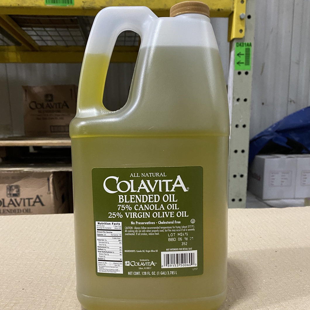 Oil, Blended Canola/Extra Virgin Olive, 1 gal - Hardie's Direct Austin, TX