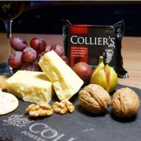 Collier's Welsh Cheddar Cheese - Hardie's Direct, Austin TX