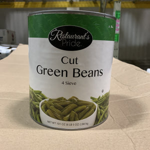 Beans Green Canned 6 lb 5 oz - Hardie's Direct Austin, TX