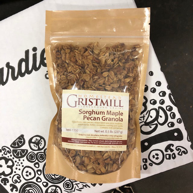 Homestead Gristmill Sorghum Maple Pecan Granola - Hardie's Direct, Austin TX