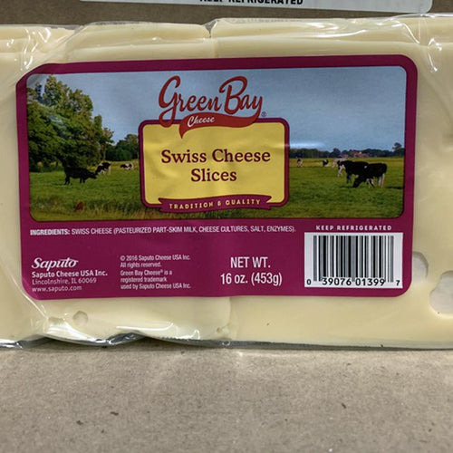 Cheese Swiss Sliced 1 lb - Hardie's Direct Austin, TX