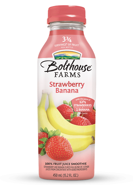 Smoothie, Bolthouse Strawberry Banana 6/ 15.2 oz - Hardie's Direct Austin, TX