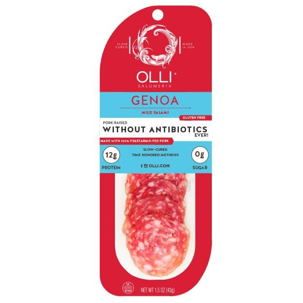 Salami Genoa Sliced Snack 1.5 oz - Hardie's Direct Austin, TX