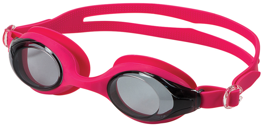 TRADE WIND SMOKE/PINK ADULT NARROW FACE GOGGLE
