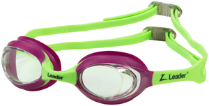 ATOM JR CLEAR / PINK LIME GREEN