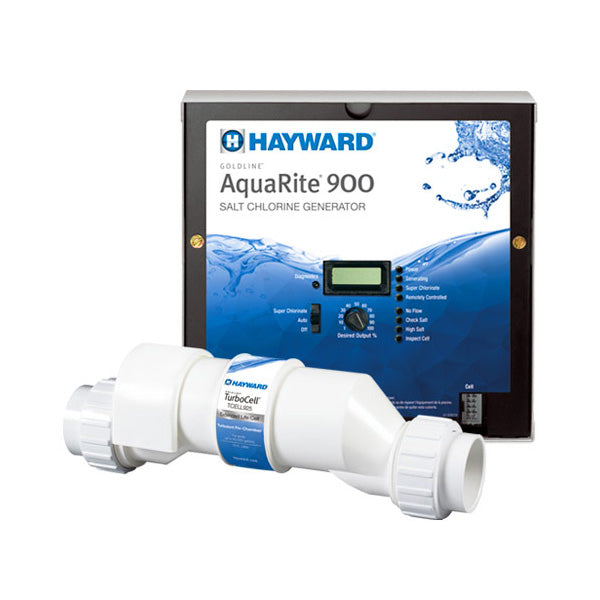 HAYWARD AQUARITE SALT CHLORINATOR WITH 5 YEAR WARRANTY - 100K LITRES