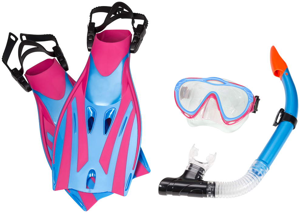 MONTEGO BAY SUPER KIT JR. PINK/TURQUOISE