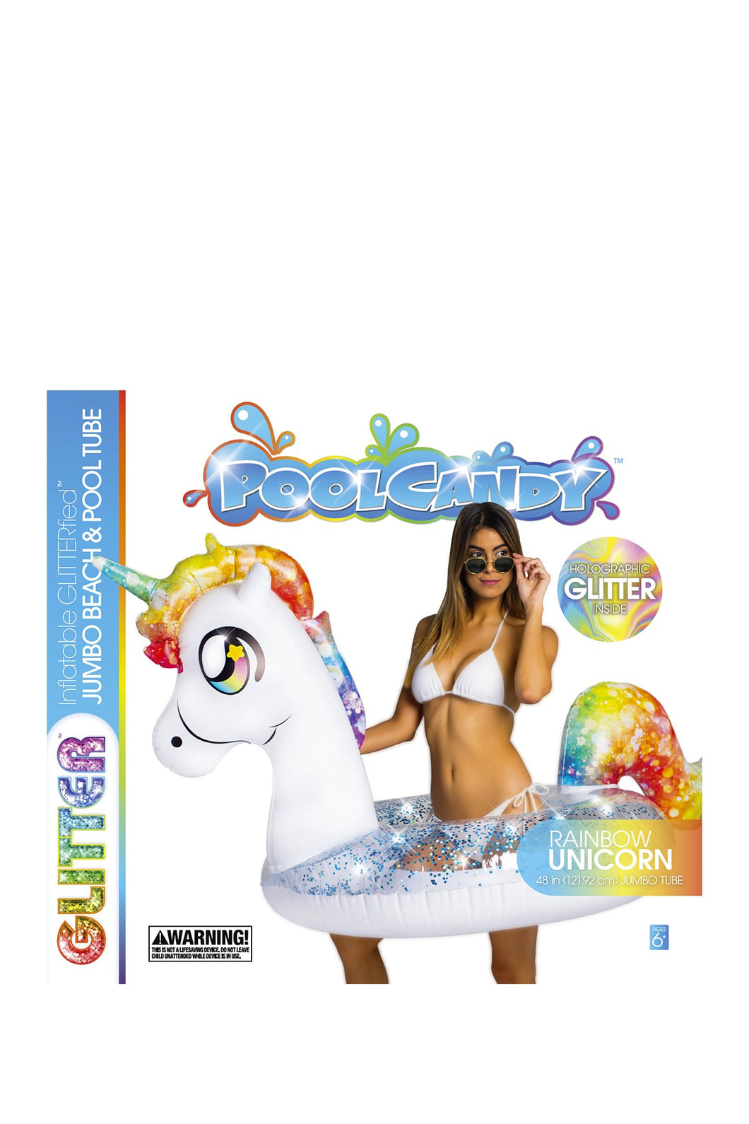 GLITTERFIED UNICORN JUMBO TUBE