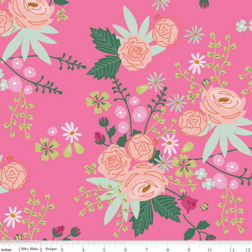New Dawn Pink by Citrus & Mint for Riley Blake Designs