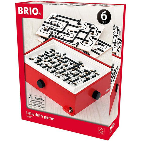 BRIO Marble Labyrinth Game with Extra Boards