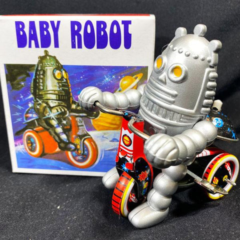 Baby Robot Tin Windup