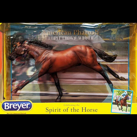 Breyer American Pharoah (2015 Triple Crown Winner)