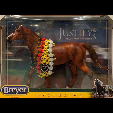 Breyer Justify (2018 Triple Crown Winner)